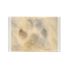Ice Paw Rectangle Magnet (10 pack)