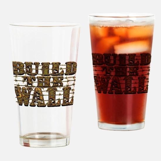 Build Wall Barb LGP Drinking Glass