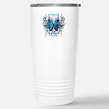 Postal Worker Butterfly Stainless Steel Travel Mug