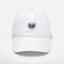 Postal Worker Butterfly Baseball Baseball Cap