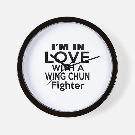 I Do Not Like Just Wing Chun Wall Clock