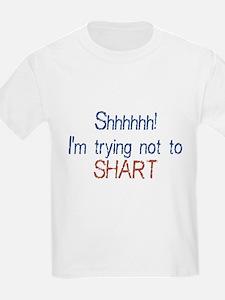 Trying not to shart T-Shirt