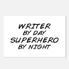 Writer Superhero Postcards (Package of 8)