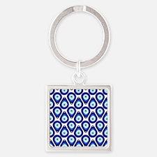 Cute Evil eye Square Keychain