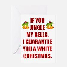 Dirty christmas Greeting Card