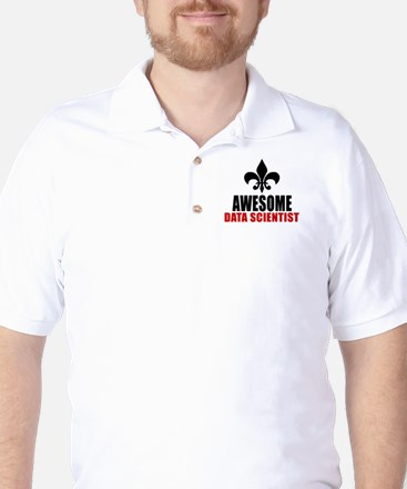 Awesome Data scientist Golf Shirt