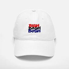 BISH BASH BOSH - RED BLACK BLUE Baseball Baseball Cap