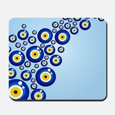 Evil eye protection pattern design Mousepad