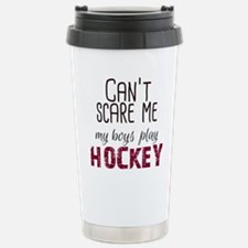 Cant Scare Me My Boys P Stainless Steel Travel Mug