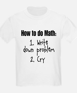 How To Do Math III T-Shirt