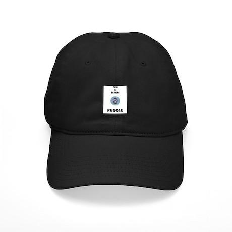 Puggle Black Cap