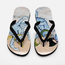 Snowmen Flip Flops