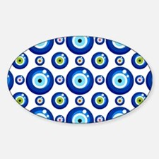 Evil eye protection pattern design Decal