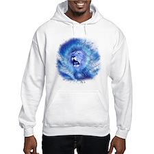 Blue Fire Lion Jumper Hoody