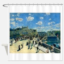 Pont Neuf by Auguste Renoir Shower Curtain