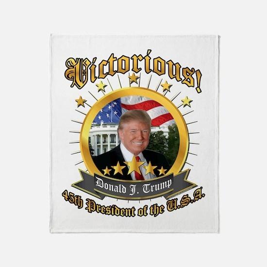 Inauguration Throw Blanket