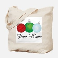 Ornaments Personalized Tote Bag