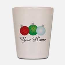 Ornaments Personalized Shot Glass