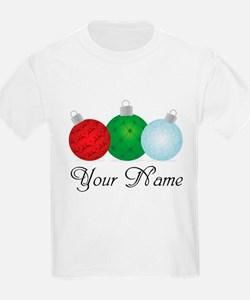 Ornaments Personalized T-Shirt