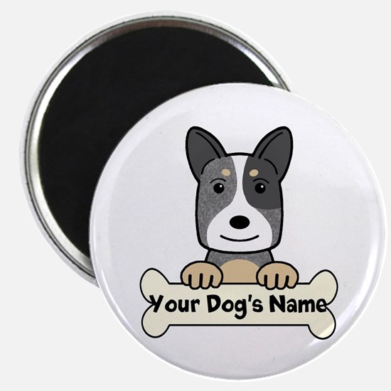 Personalized Cattle Dog Magnet