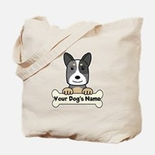 Personalized Cattle Dog Tote Bag