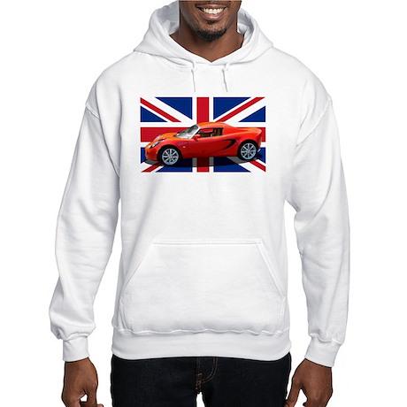 """""""Chili Red Elise UK"""" Hooded Sweatshirt"""