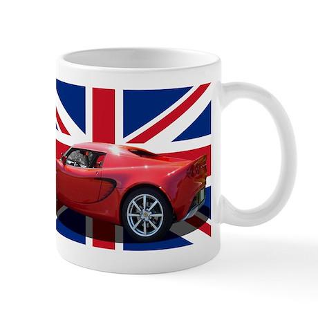 """""""Chili Red Elise UK"""" Mug"""