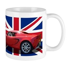 """Chili Red Elise UK"" Coffee Mug"