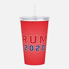 Trump 2020 Acrylic Double-wall Tumbler