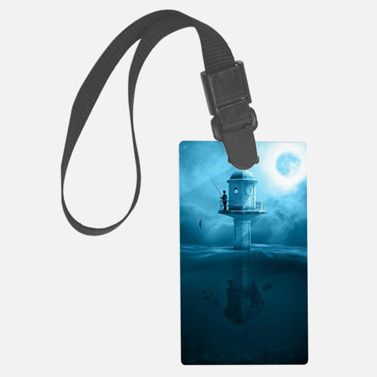 Unique Surrealism Luggage Tag