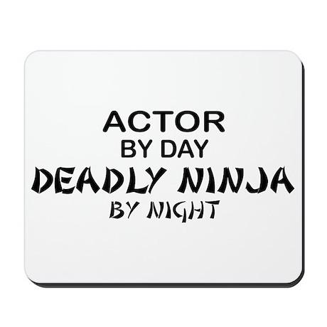 Actor Deadly Ninja Mousepad