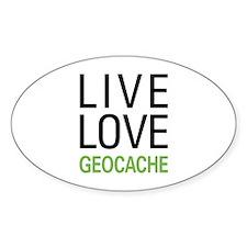 Live Love Geocache Decal
