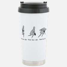 Cute Rugby girl Travel Mug