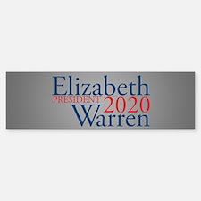 Elizabeth Warren 2020 Bumper Bumper Sticker
