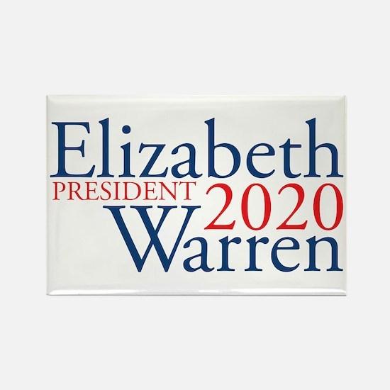 Elizabeth Warren 2020 Rectangle Magnet