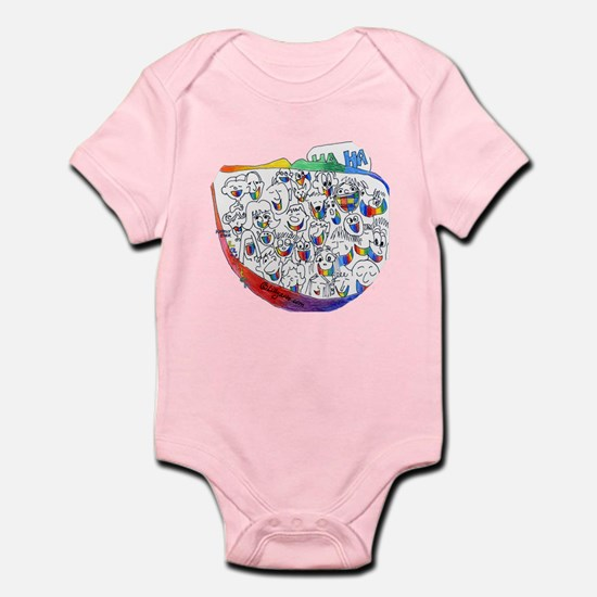 Happily Ever Laughter Infant Bodysuit