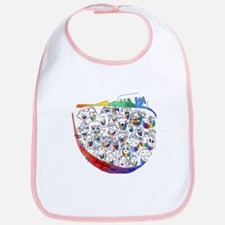 Happily Ever Laughter Bib