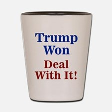 Trump Won Deal With It! Shot Glass