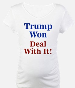 Trump Won Deal With It! Shirt