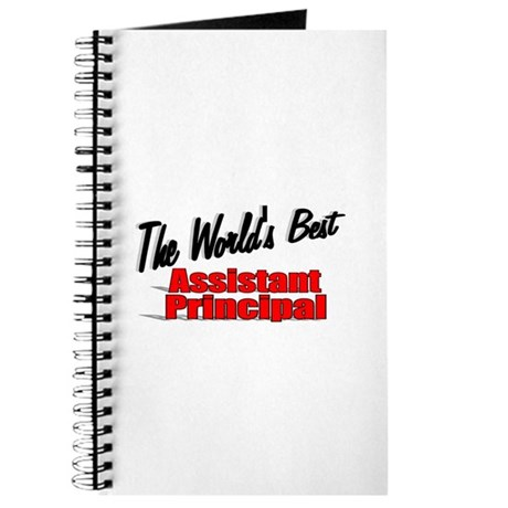 """""""The World's Best Assistant Principal"""" Journal"""