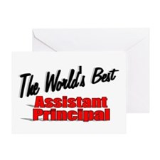 """The World's Best Assistant Principal"" Greeting Ca"