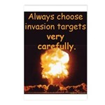 Be Careful Postcards (Package of 8)