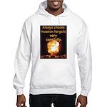 Be Careful Hooded Sweatshirt