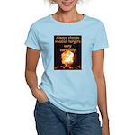 Be Careful Women's Light T-Shirt