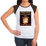 Be Careful Women's Cap Sleeve T-Shirt