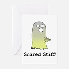 Scared Stiff Greeting Cards