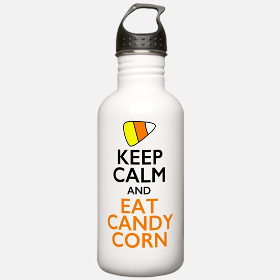 Keep Calm and Eat Cand Water Bottle