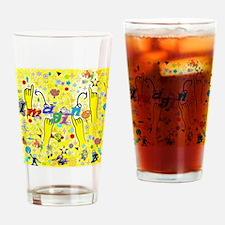 Cool Deaf art Drinking Glass