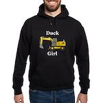 Duck Girl Hoodie (dark)