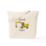 Duck Girl Tote Bag